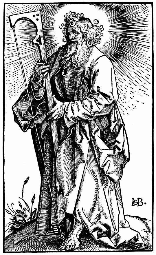 Ханс Бальдунг. Святой Иаков Младший