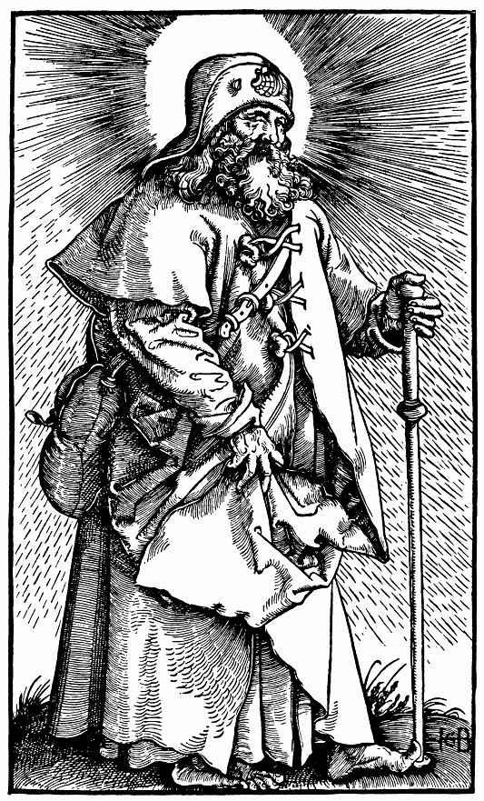 Ханс Бальдунг. Святой Иаков Старший