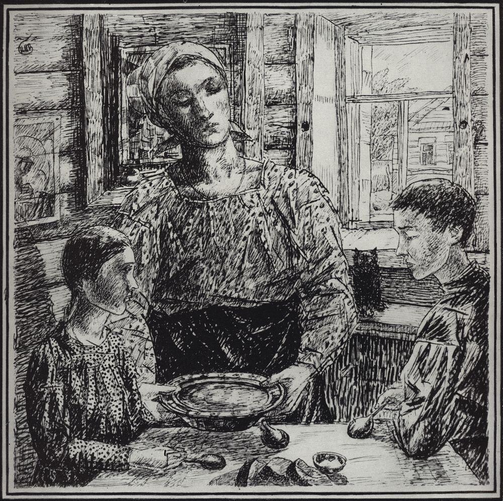 Кузьма Сергеевич Петров-Водкин. Мать