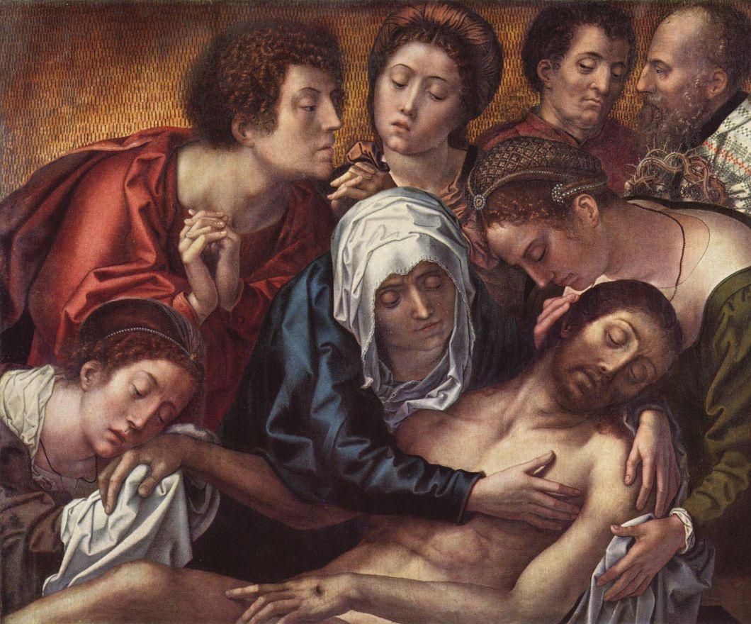 Бернард ван Орлей. Оплакивание Христа