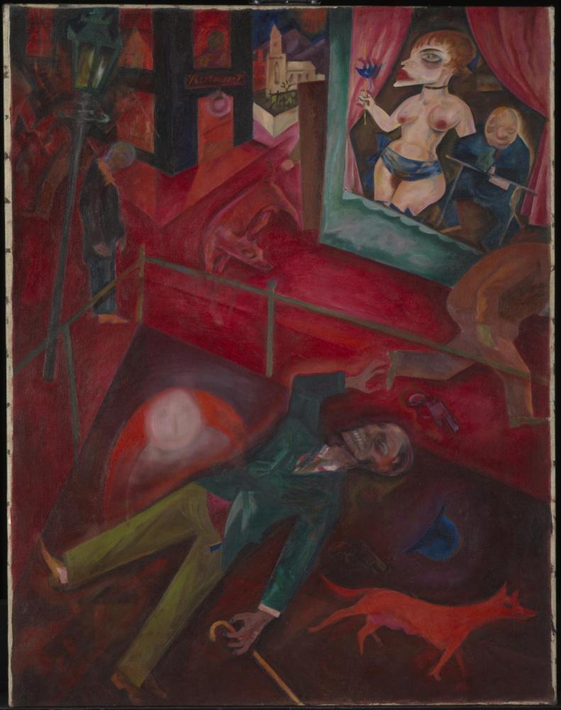 George Grosz. Suicide