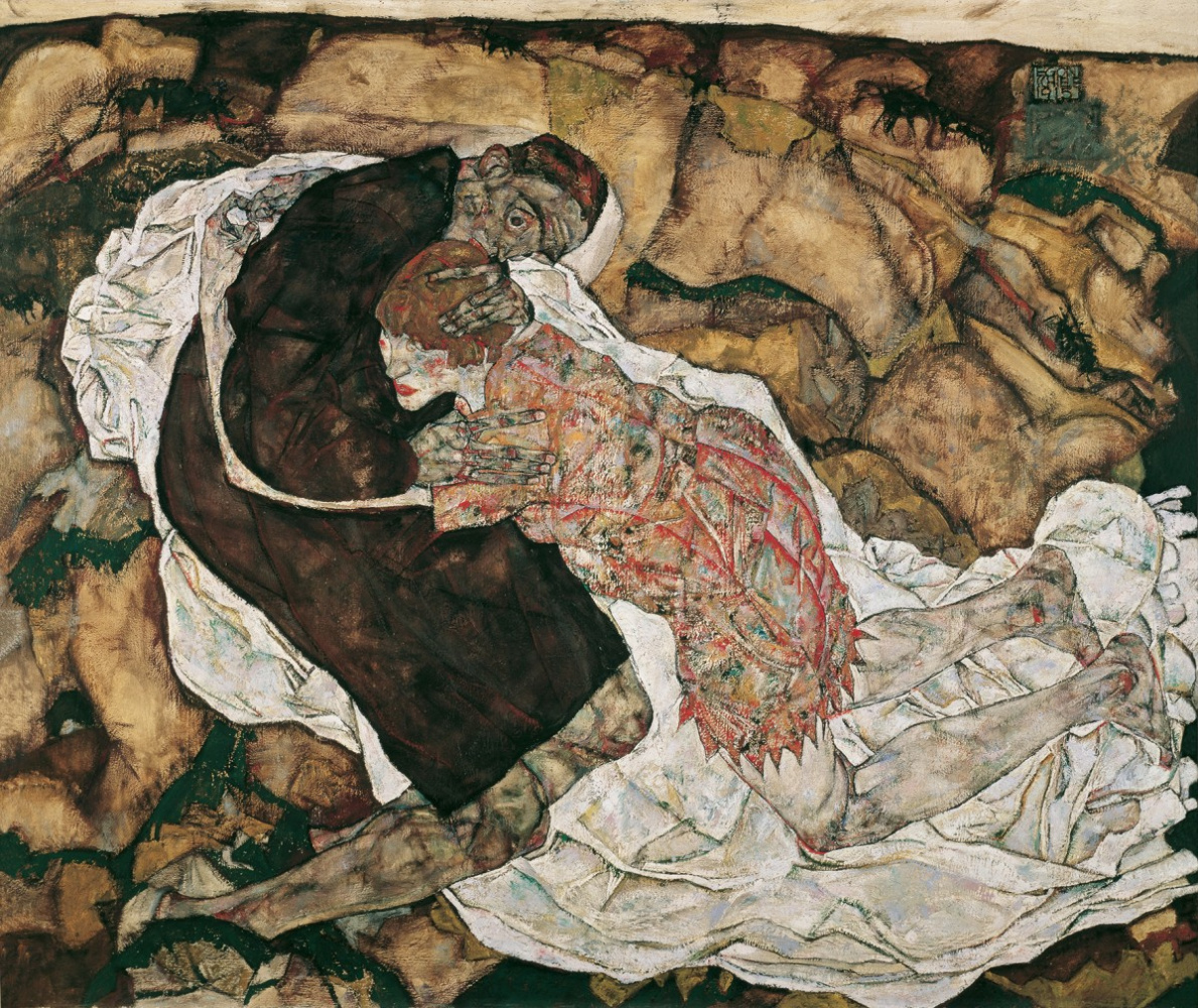 Egon Schiele. Death and the maiden