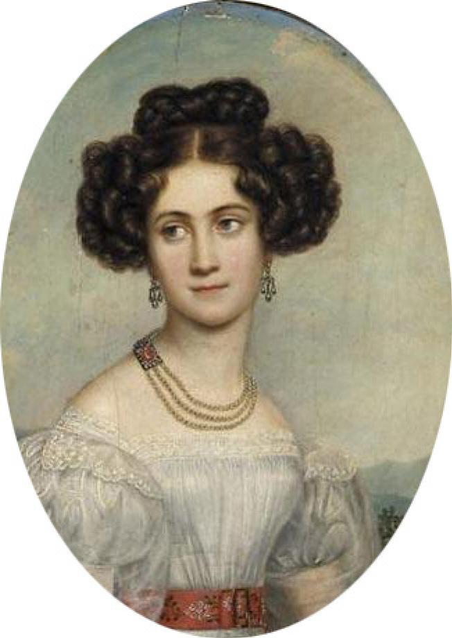 Josef Karl Styler. Princess Maria Louis of Bavaria