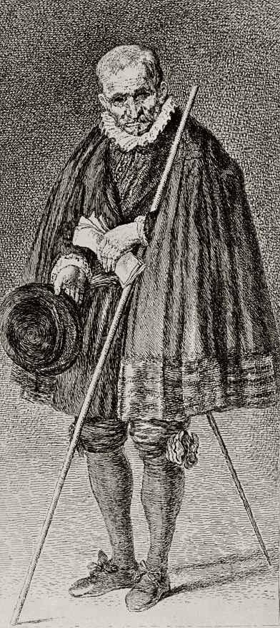 Франсиско Гойя. Портрет привратника Очойи