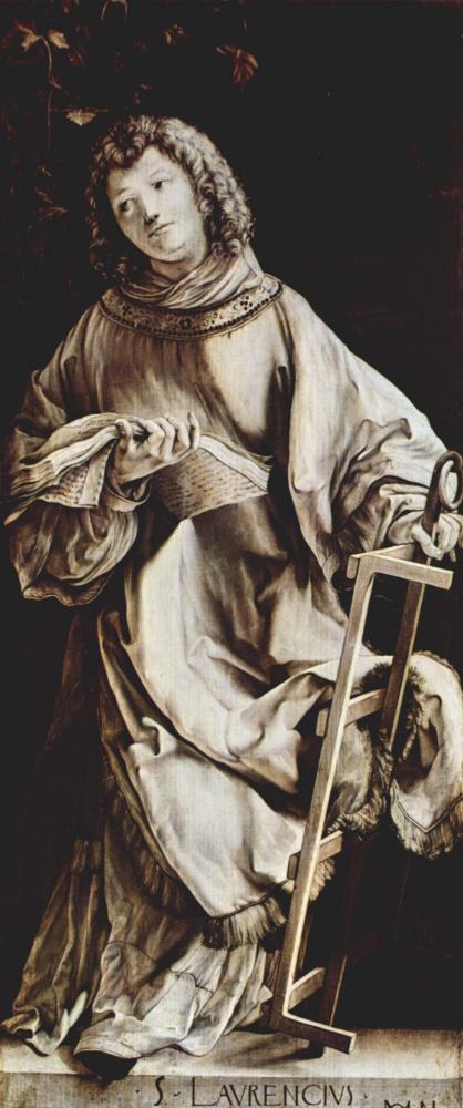 Неподвижные доски с четырьмя святыми для Геллеровского алтаря Альбрехта Дюрера