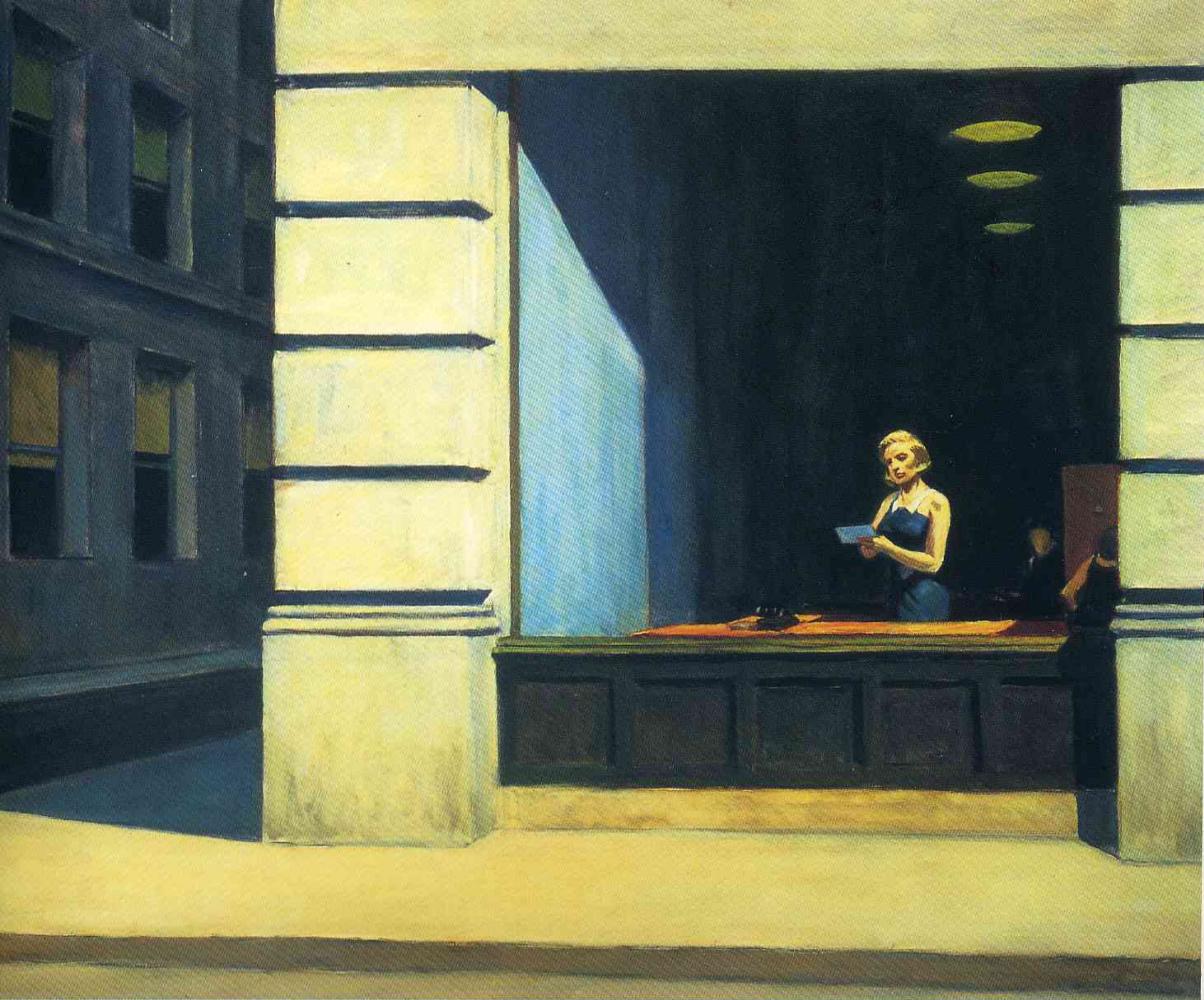 Edward Hopper. New York office