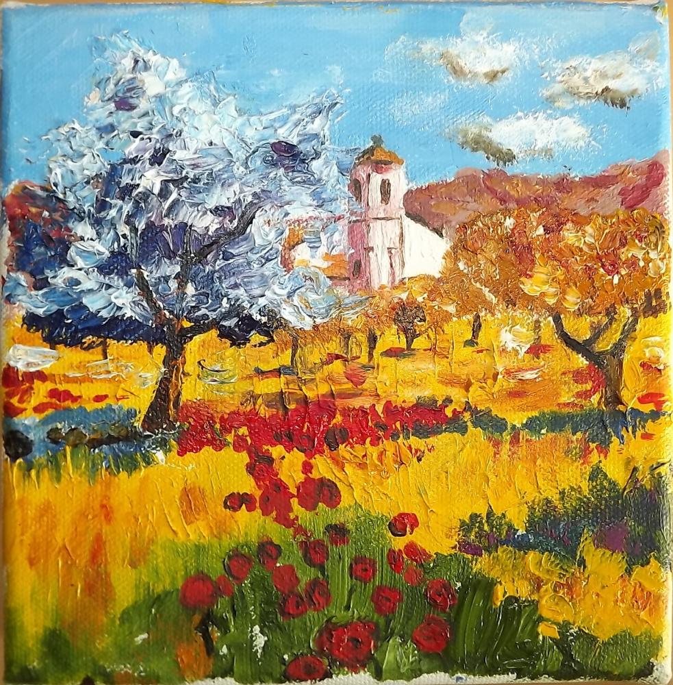 Arseniy Donov. Church in Provence