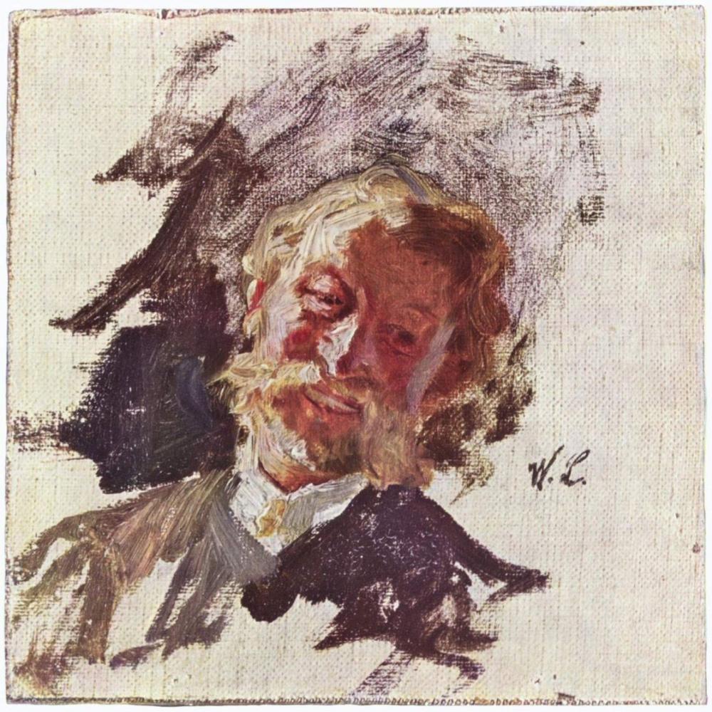Вильгельм Мария Хубертус Лейбль. Мужской портрет