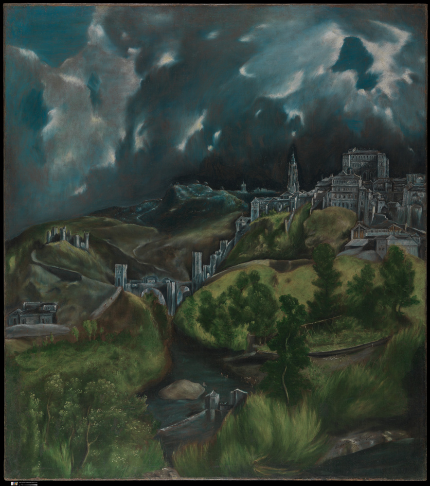 Domenico Theotokopoulos (El Greco). View Of Toledo