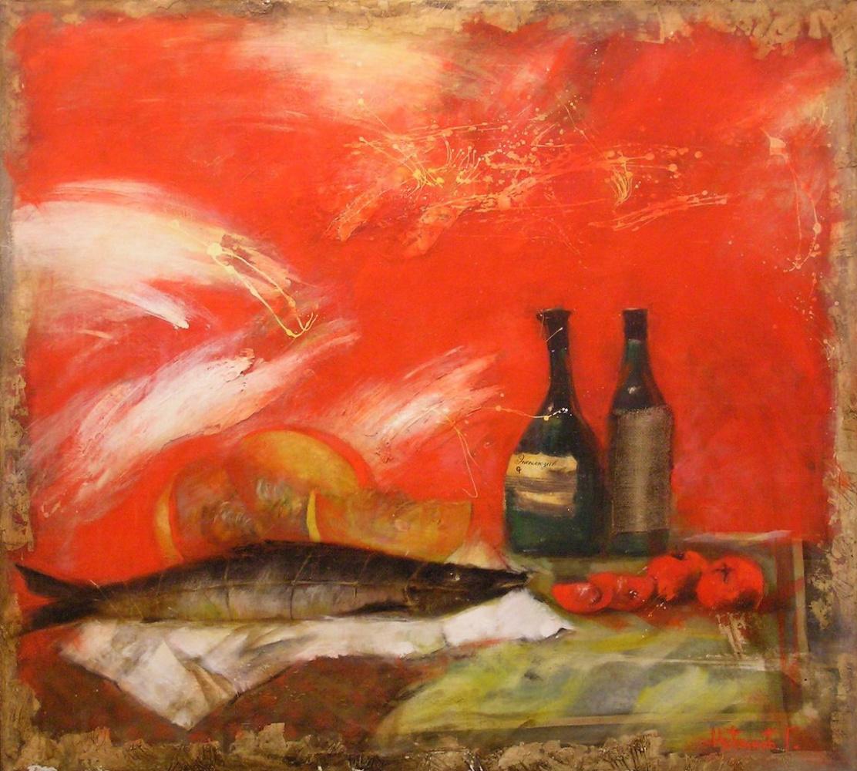 Grigory Novikov. Spanish Breakfast. From the Dreams Kraynova