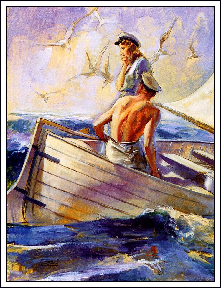 John La Gatta. Sea