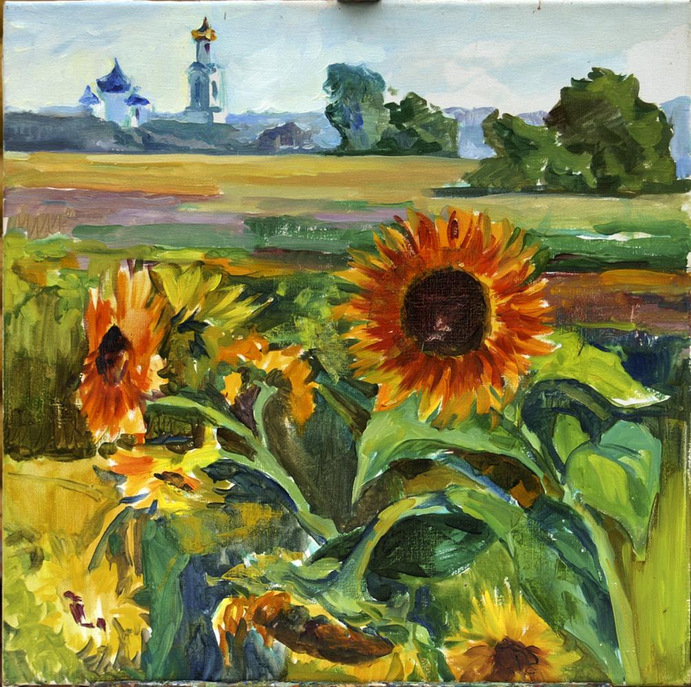 Anna Yuryevna Bosco. Sunflowers