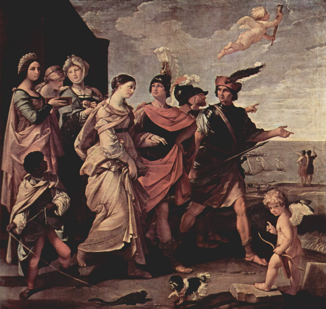 Guido Reni. The Abduction Of Helen