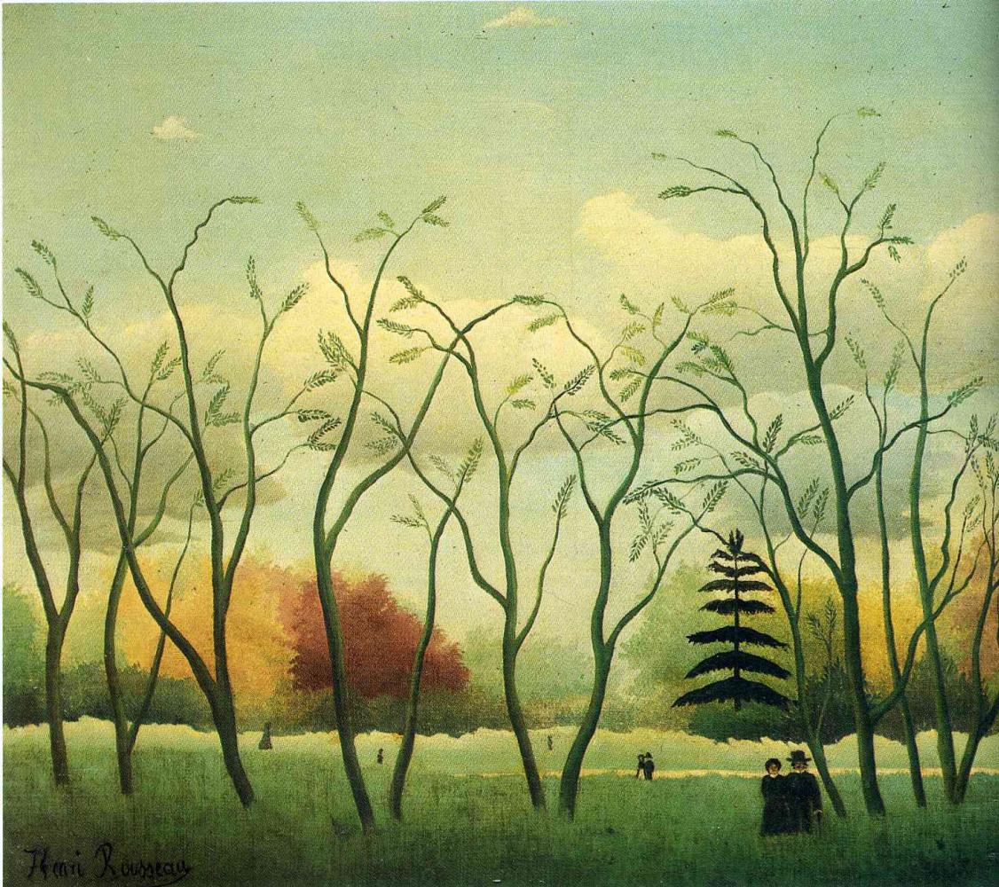Henri Rousseau. Walk