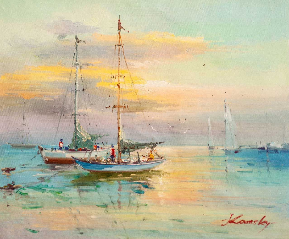 Savely Kamsky. In the silence of the dawn