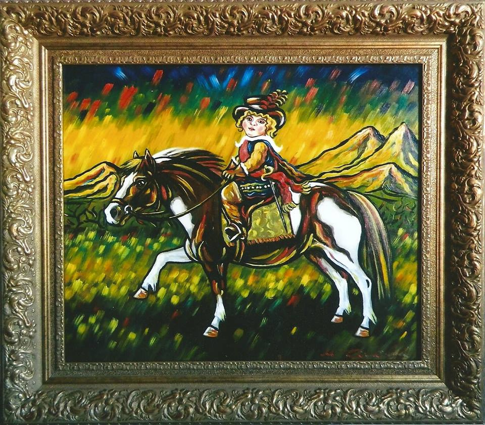 Margarita Anatolievna Chakova. Balthasar's Faithful Horse