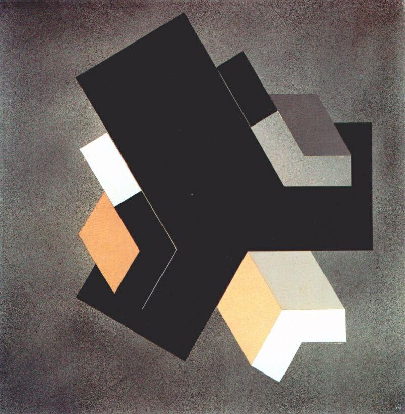 El Lissitzky. Three dimensions