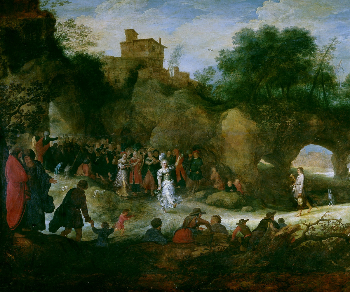 The triumph of David after his victory over Goliath (co-authored with Adrian van Stalbemt)