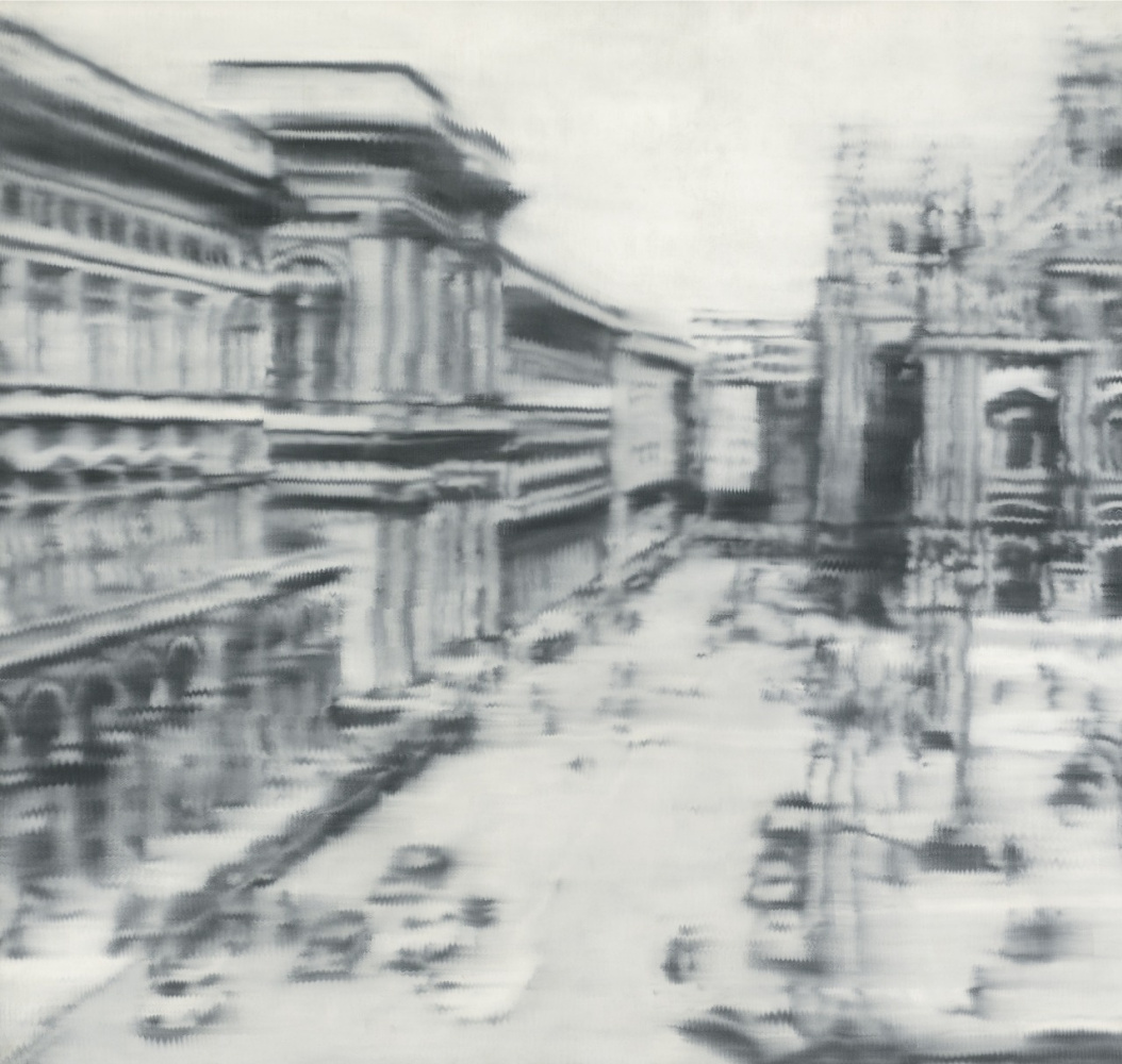 Gerhard Richter. Cathedral Square, Milan