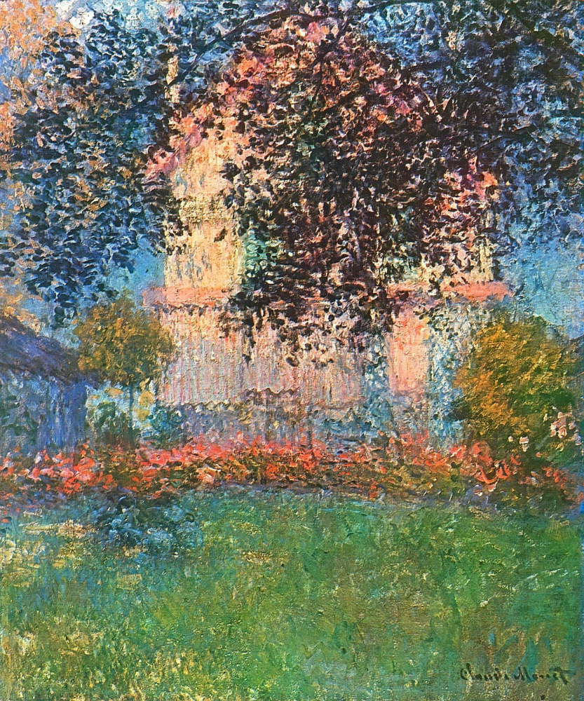Claude Monet. Artist's house at Argenteuil