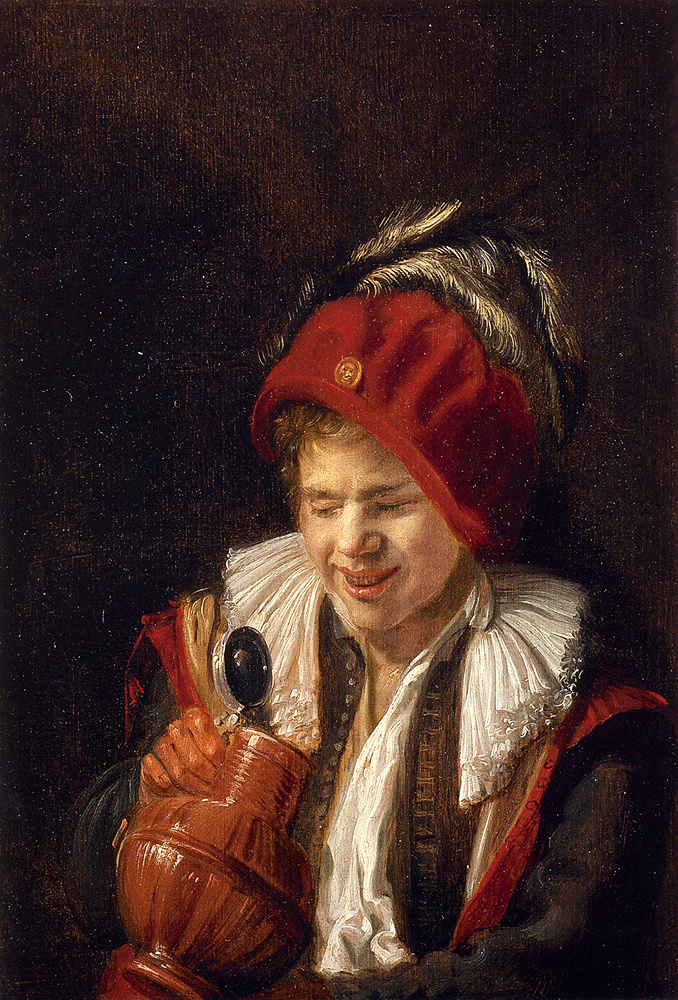 Judith Leyster. Young man with a clay jug