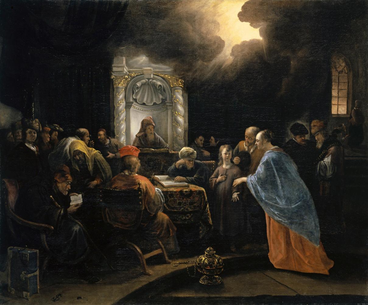 Jan Steen. Christ among the doctors