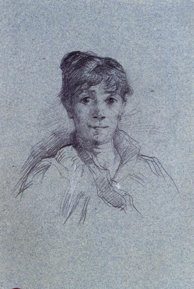Анри де Тулуз-Лотрек. Портрет женщины