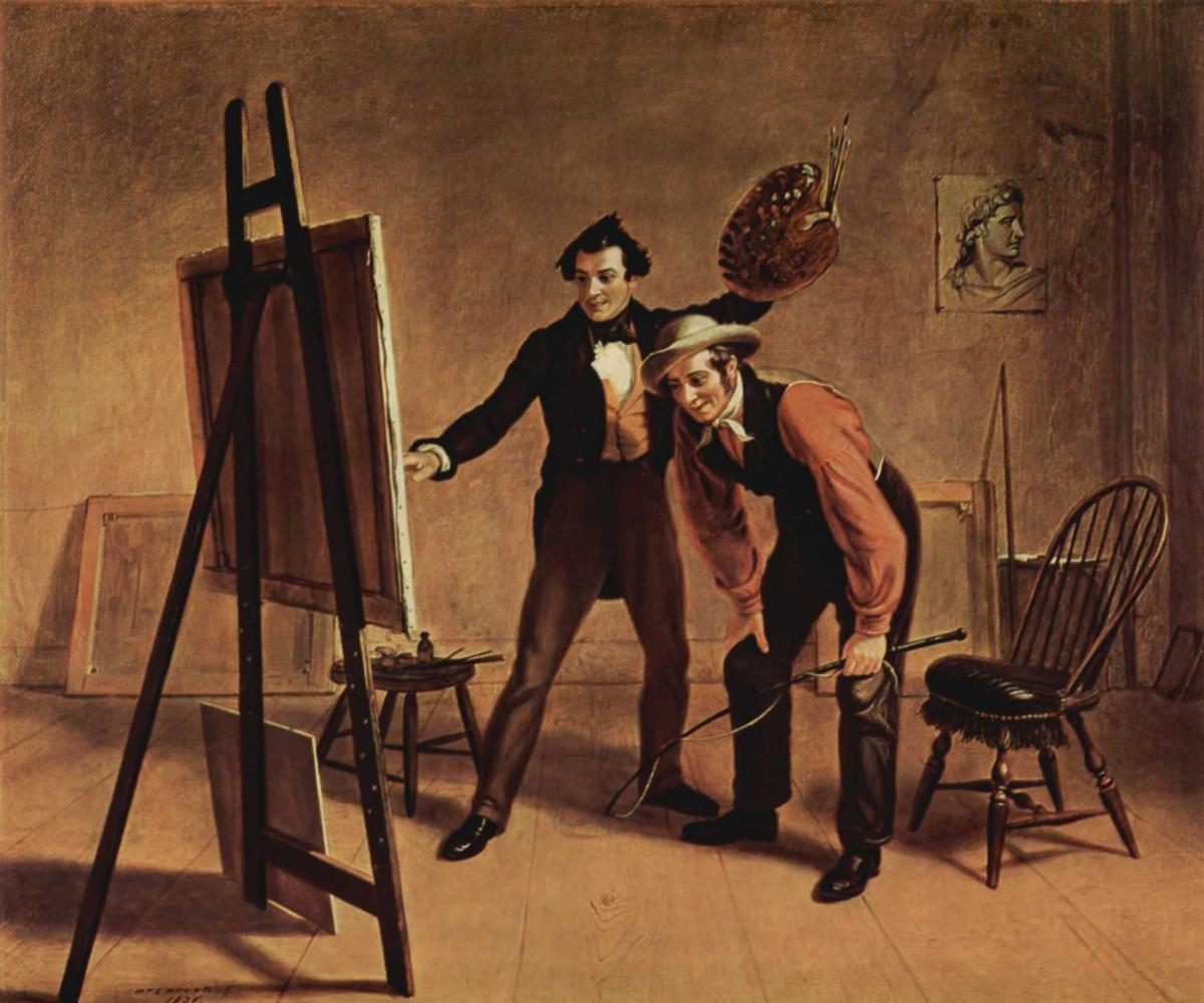 Уильям Сидни Маунт. Триумф художника