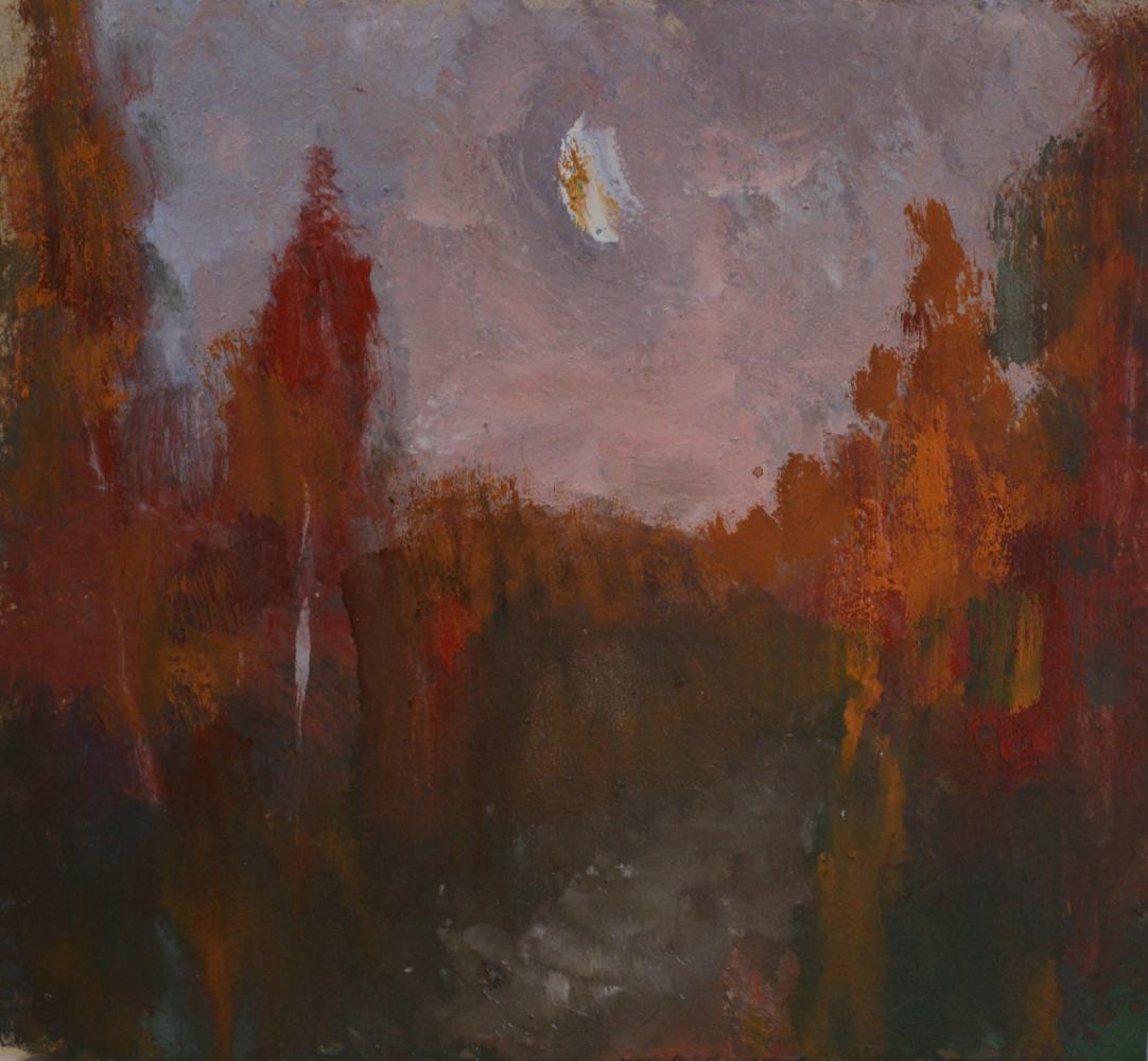 Nikolay Karpetsky. Night landscape