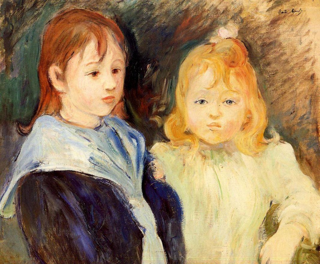 Берта Моризо. Портрет детей