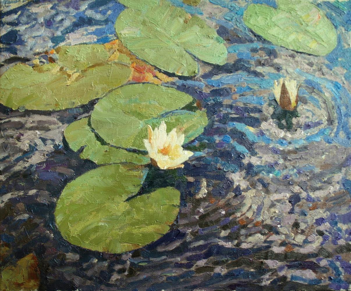 Mikhail Rudnik. Water lilies