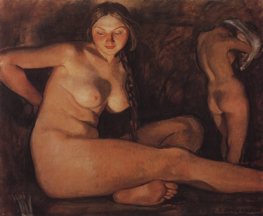 Zinaida Yevgenyevna Serebriakova. Bath