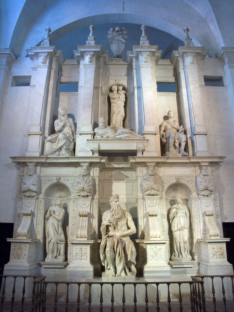 Michelangelo Buonarroti. The tomb of Pope Julius II