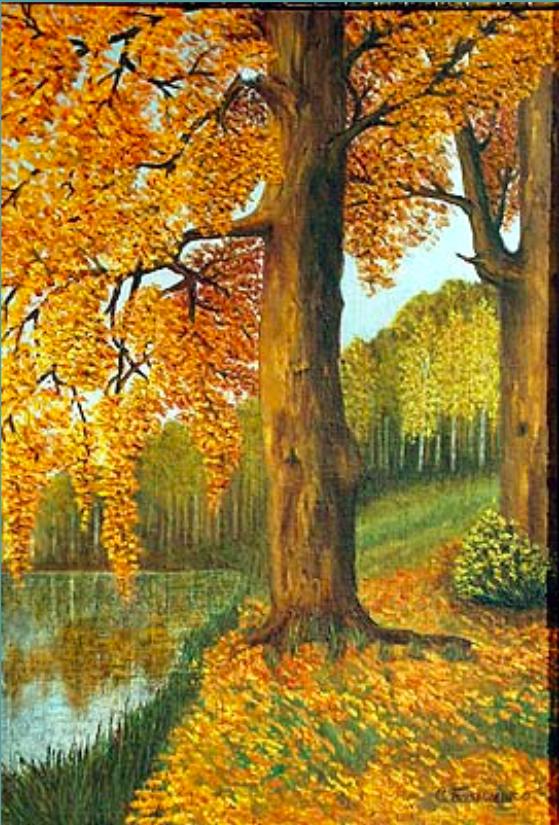 Stefania Ivanovna Bazylenko. Autumn