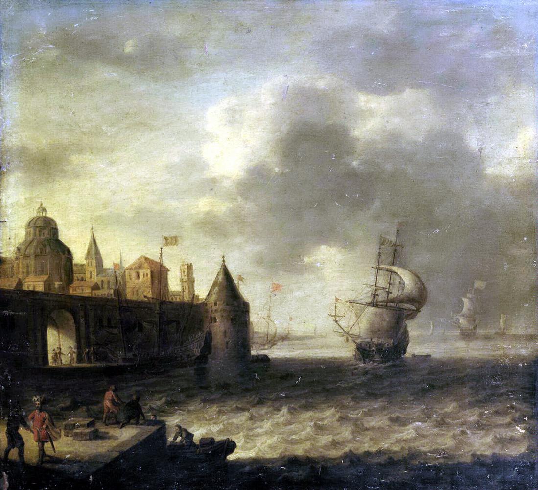 Петер ван де Вельде. Морская гавань