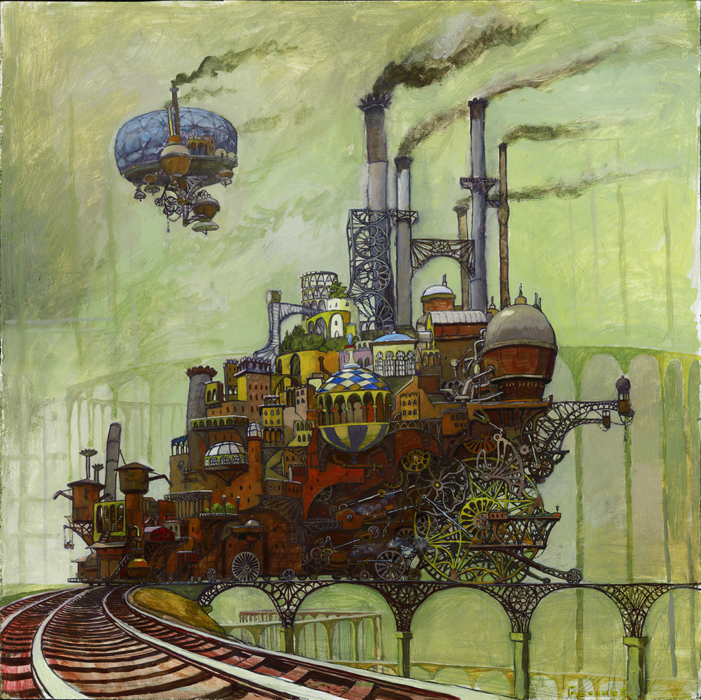 "Stepan Grudinin. The Locomotive ""Plutarch"""