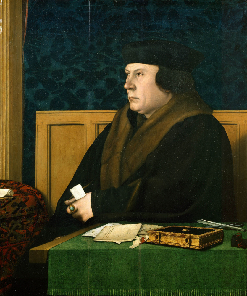Hans Holbein the Younger. Portrait of Thomas Cromwell
