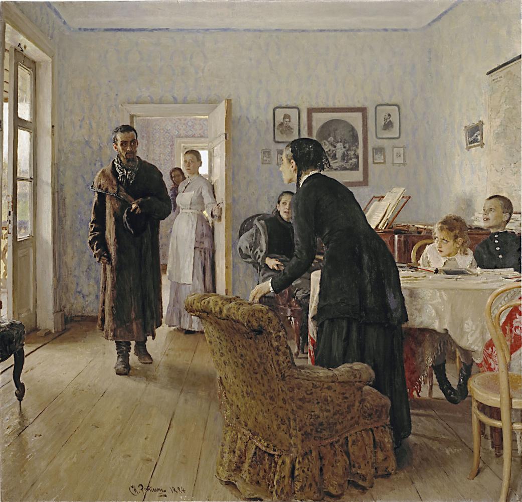Ilya Efimovich Repin. Did not expect