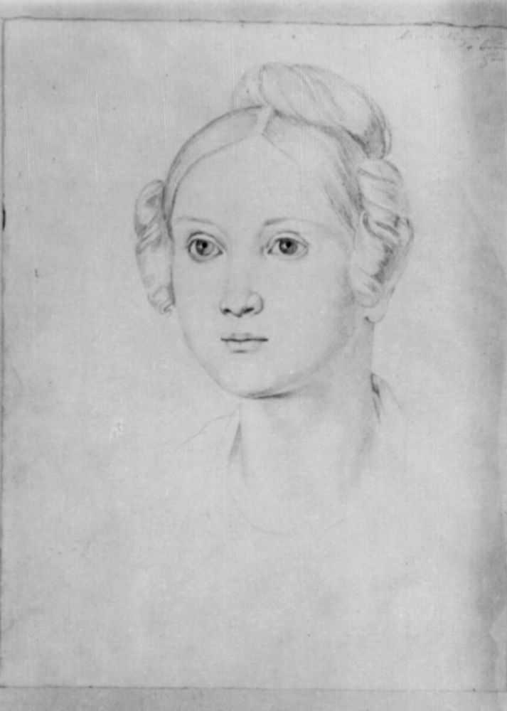 Йозеф фон Фюрих. Портрет Марии Массими
