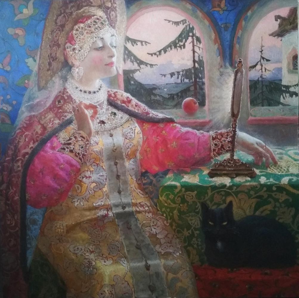 """Svetlana Petrovna Ivkina. ,, My light, mirror! Say ... """""""