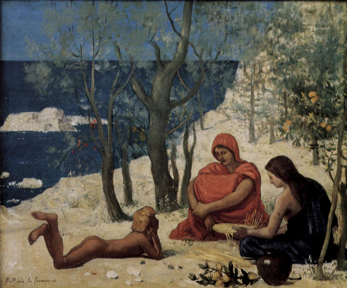 Pierre Cecil Puvi de Chavannes. Greek colony