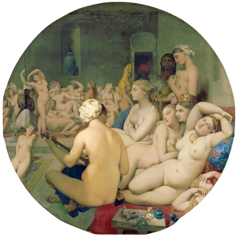 Jean Auguste Dominique Ingres. Turkish baths