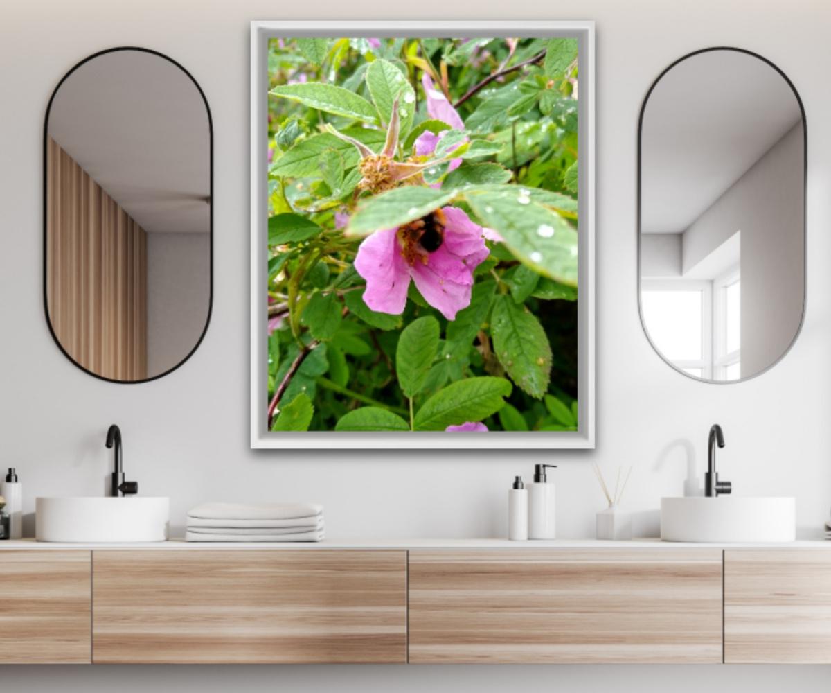 Natalya Garber. Pure nectar. Work for a modern office toilet