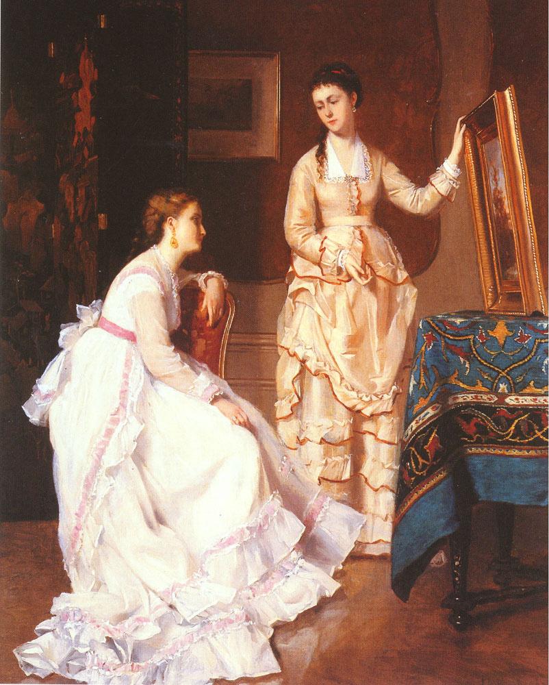 Albert Rusenbum. Elegant ladies