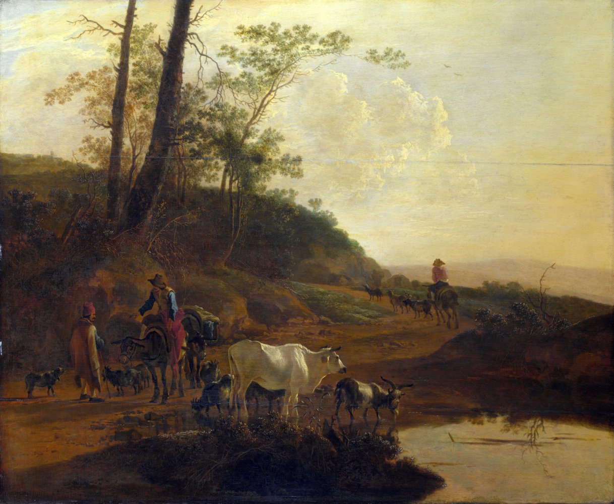Ян ван Эйк. Рогатый скот и мужчины