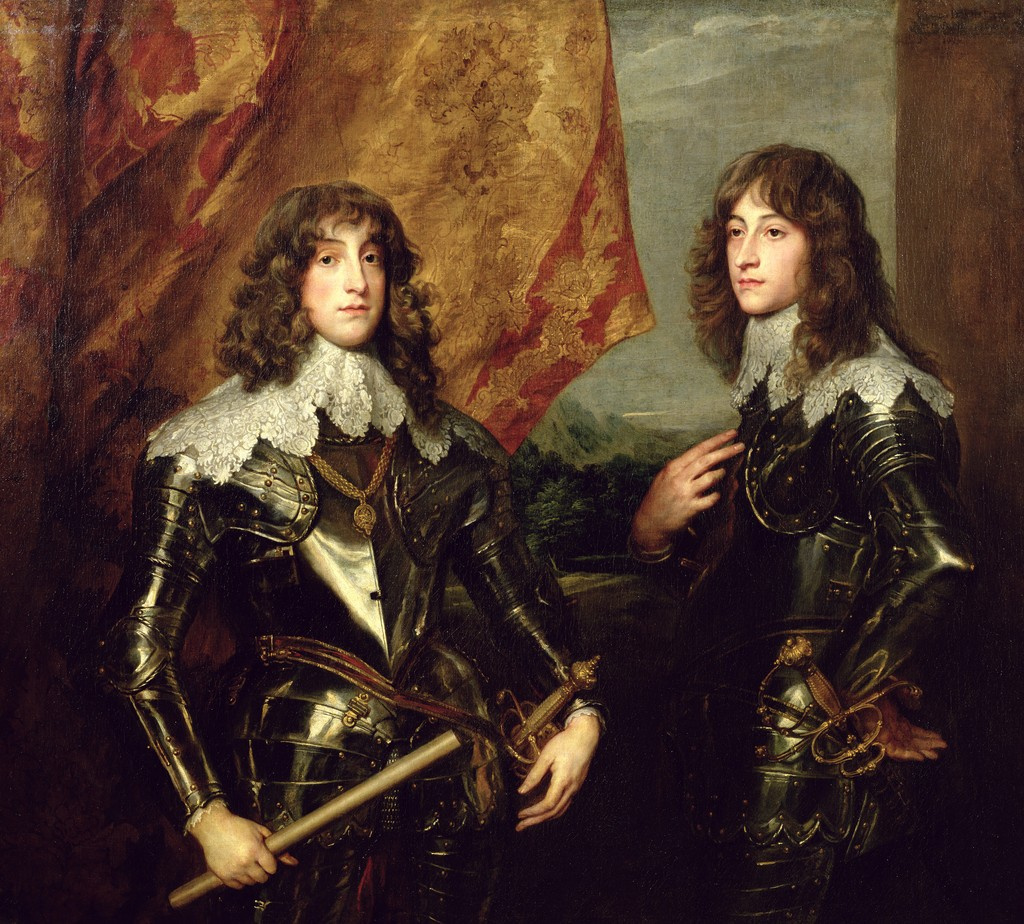 Anthony van Dyck. Prince Karl Ludwig, elector of the Palatinate and his brother Rupert