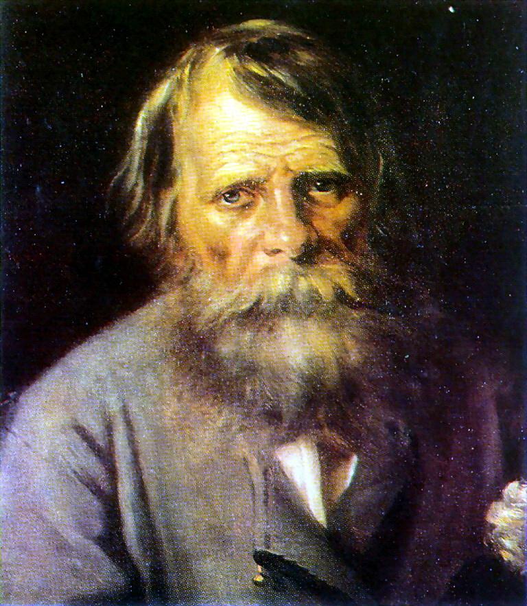 Василий Григорьевич Перов. Мужской портрет