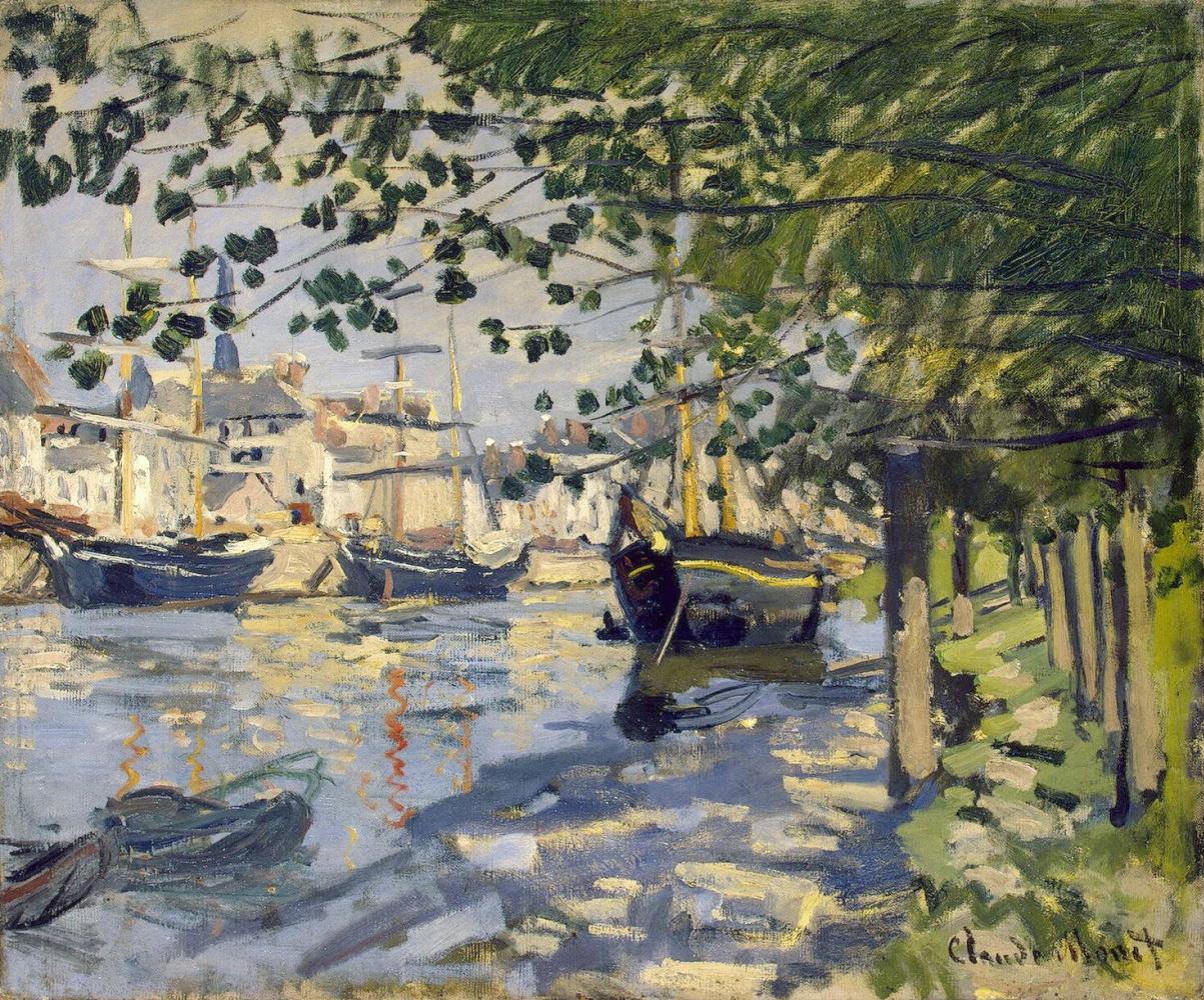 Клод Моне. Сена в Руане