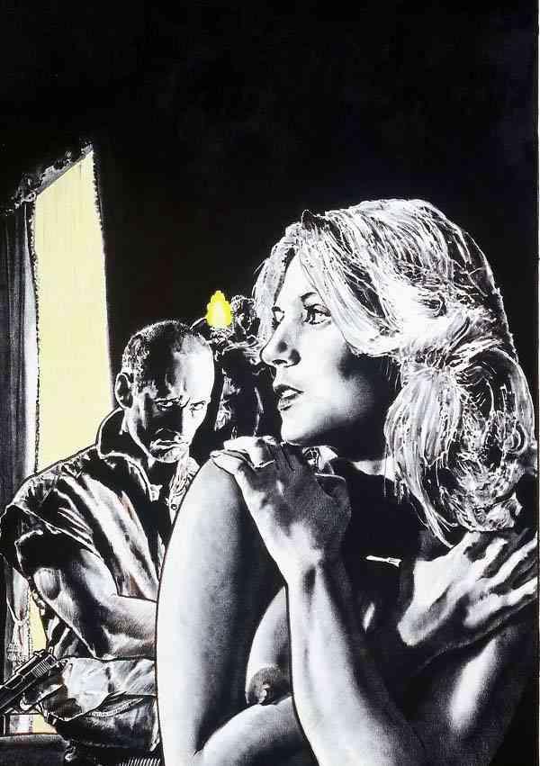 Жан-Клод Клаеус. Мужчина смотрит на девушку