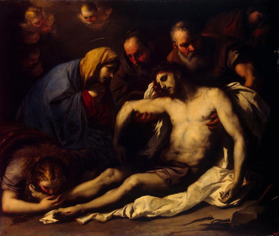 Лука Джордано. Оплакивание Христа